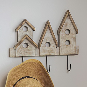 Bird Houses Hook
