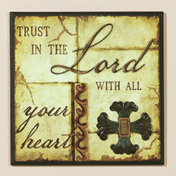 Trust in the Lord Insert