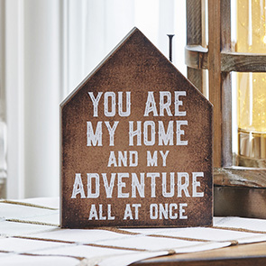 You are My Adventure Sign