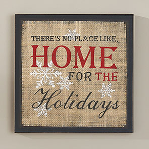 Home For the Holidays Insert