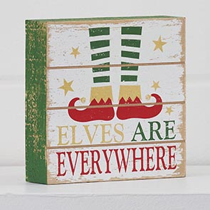 Elves are Everywhere Block