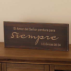 El Amor Del Senor Sign