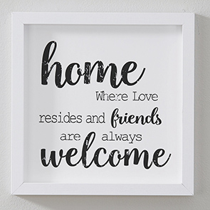 Home Where Love Resides Sign