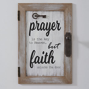 Prayer is the Key Sign