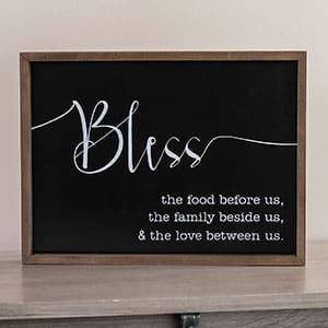 Bless Us Sign