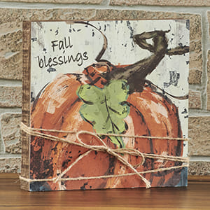 Fall Blessings Sign