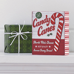 Candy Cane Block