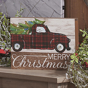 Merry Christmas Delivery Sign