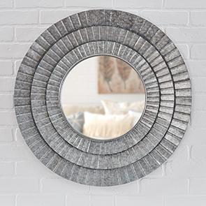 Triple Ripple Mirror