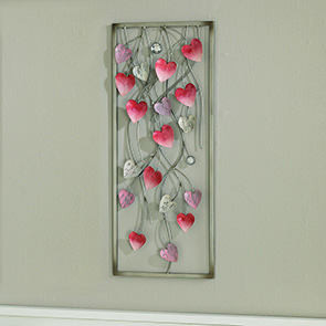 Hearts Wall Decor